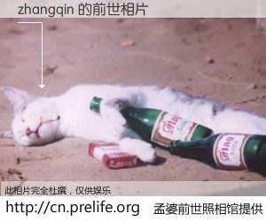 #孟婆前世照相馆# 【zhangqin 的前世相片】我们都曾从奈何桥上走过,喝下三碗忘川之水烹煮的孟婆汤,忘却了前尘旧事。孟婆前世照相馆,保存着你前世的数码相片。zhangqin 的前世相片,有图有真相: